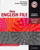 učebnice angličtiny New English File Elementary Multipack A