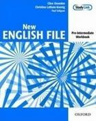 učebnice angličtiny New English File Pre-Intermediate Workbook