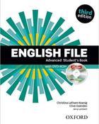 učebnice angličtiny English File 3rd edition Advanced SB+WB