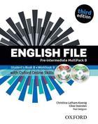 učebnice angličtiny English File 3rd ed. Pre-Intermediate MULTIPACK B