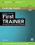 učebnice angličtiny First Certificate Trainer