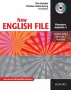 učebnice angličtiny New English File Elementary Multipack A