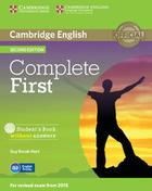 učebnice angličtiny Complete First