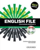 učebnice angličtiny English File 3rd ed. Intermediate MULTIPACK A