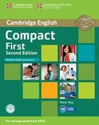 učebnice angličtiny Compact First (2nd Edition) Student´s Book with Answers & CD-ROM