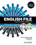 učebnice angličtiny English file 3rd ed. Pre-Intermediate MULTIPACK A