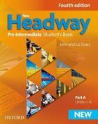 učebnice angličtiny New Headway 4e Pre-Intermediate Student´s Book