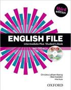 učebnice angličtiny English File 3rd Edition Intermediate Plus