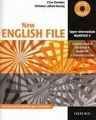 učebnice angličtiny New English File Upper - intermediate MultiPack A