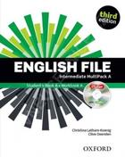 učebnice angličtiny English File Intermediate Multipack A