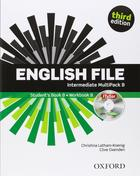 učebnice angličtiny English File 3rd ed. Intermediate MULTIPACK B