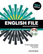 učebnice angličtiny English File 3rd ed. Advanced MULTIPACK A
