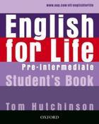 učebnice angličtiny English for Life Pre-Intermediate