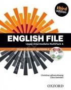 učebnice angličtiny English File Upper-intermediate Multipack A