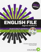 učebnice angličtiny English File Beginner (3rd ed.)