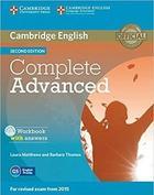 učebnice angličtiny Complete Advanced