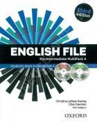 učebnice angličtiny English File Pre-intermediate Multipack A