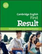 učebnice angličtiny Cambridge First Result