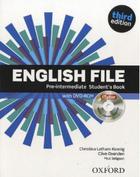 učebnice angličtiny English File 3rd edition pre-intermediate