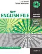 učebnice angličtiny New English File Int Multipack A