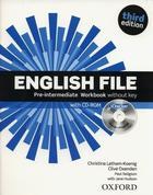učebnice angličtiny English File 3rd edition pre-intermediate, lekce 1-6