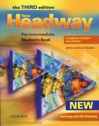 učebnice angličtiny New Headway - Pre-intermediate