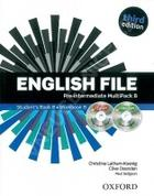 učebnice angličtiny English File Pre-intermediate Multipack B