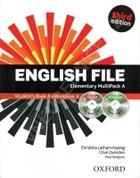 učebnice angličtiny English File Elementary Multipack A