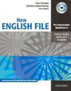 učebnice angličtiny New English File Pre-Intermediate, Multipack B