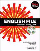 učebnice angličtiny English File 3rd ed. Elementary