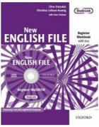 učebnice angličtiny New English File Beginner Workbook