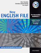 učebnice angličtiny New English File Pre-Int Multipack A