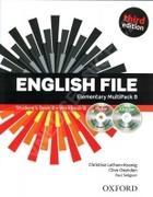 učebnice angličtiny English File Elementary Multipack B