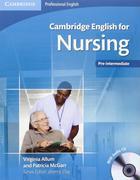 učebnice angličtiny Cambridge English for Nursing