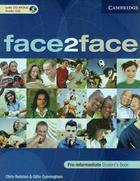 učebnice angličtiny Face2Face - Pre-Intermediate