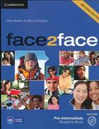 učebnice angličtiny Face2Face Pre-intermediate