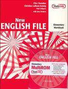 učebnice angličtiny New English File Elementary Workbook