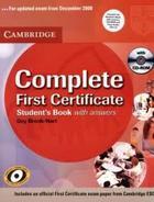 učebnice angličtiny Complete FCE