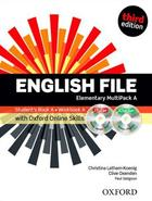 učebnice angličtiny English File 3rd ed. Elementary MULTIPACK A