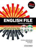 učebnice angličtiny English File 3rd ed. Elementary MULTIPACK A