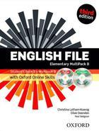 učebnice angličtiny English File 3rd ed. Elementary MULTIPACK B