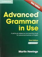 učebnice angličtiny Advanced Grammar in Use with Answers