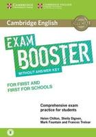učebnice angličtiny Cambridge English Exam Booster for First & First for Schools