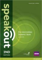 učebnice angličtiny Speakout Pre-intermediate 2nd edition