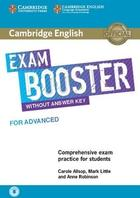 učebnice angličtiny Cambridge English Exam Booster for Advanced