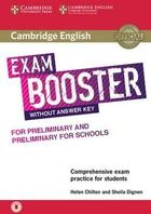 učebnice angličtiny Cambridge English Exam Booster for Preliminary & Preliminary for Schools