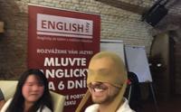 (2 účastníci - 1 rodilý mluvčí) 70h konverzace během 6 dnů - program MLUVÍM MÁLO A CHCI VÍC - 10% SLEVA při objednávce 2 - Kurz angličtiny - Praha 1