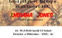 """Jazykový Summer Camp """" DOBRODRUŽSTVÍ INDIANA JONESE"""" - Kurz angličtiny - České Budějovice"""