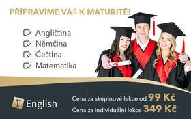 Příprava k maturitě - Kurz angličtiny - Moravská Ostrava a Přívoz