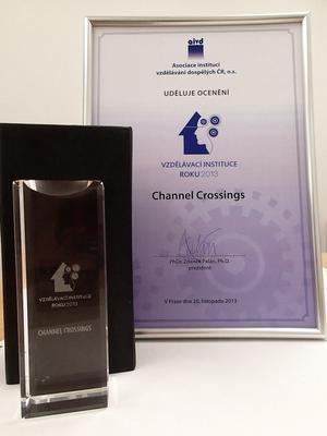 Jazyková agentura Channel Crossings se stala vzdělávací institucí roku 2013
